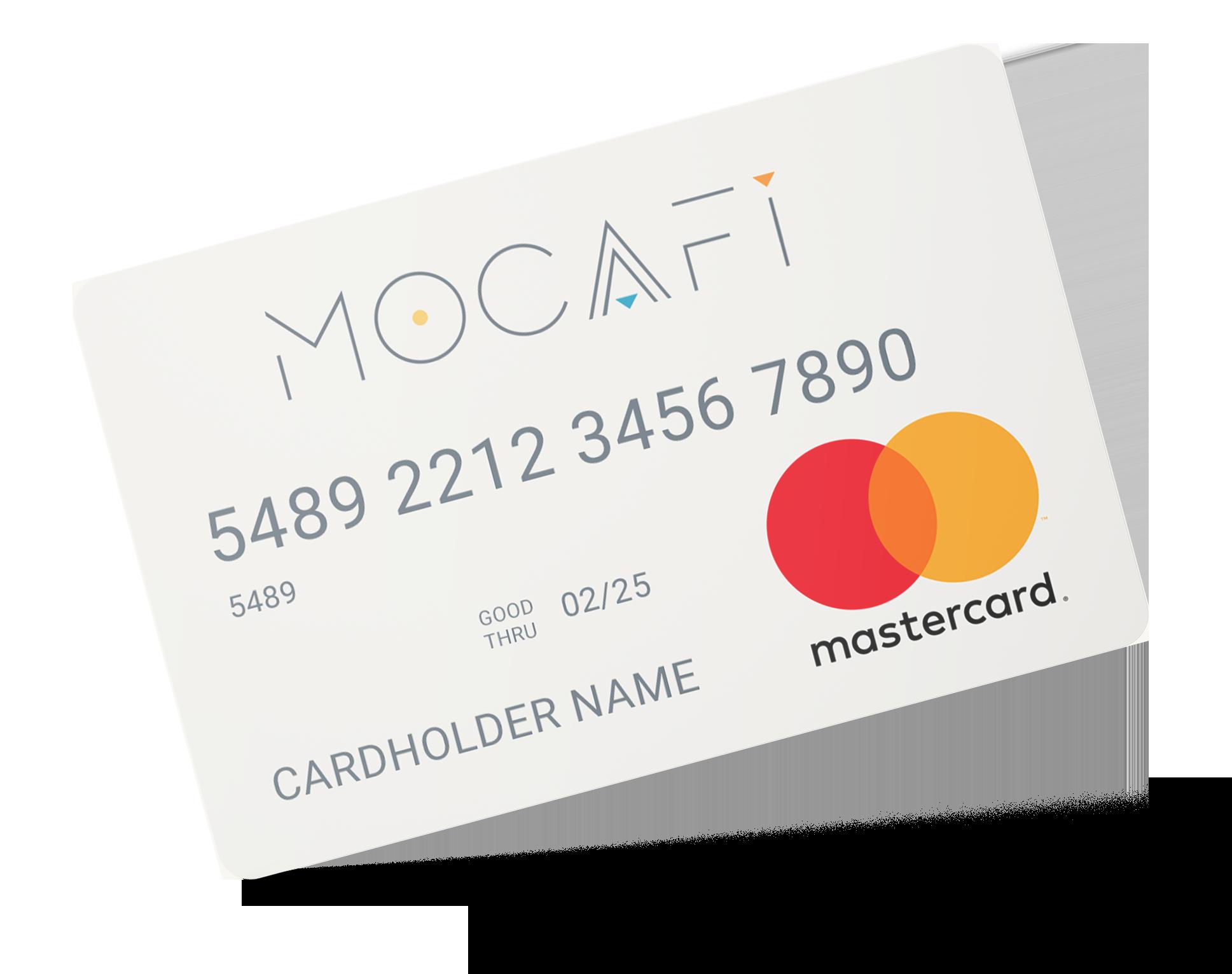 MoCaFu Prepaid Mastercard